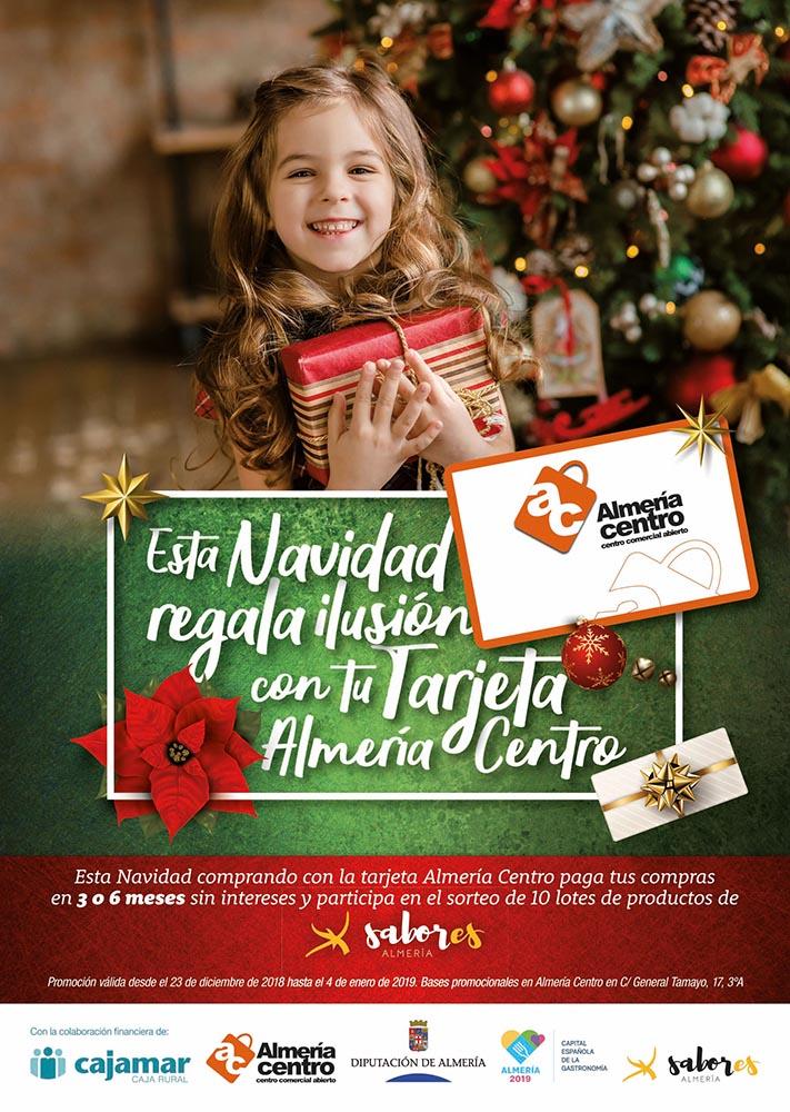 Cartel Navidad 2018 Almería Centro