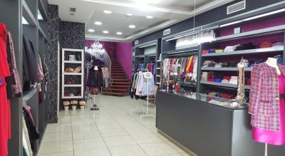 Interior de Amaranta Boutique