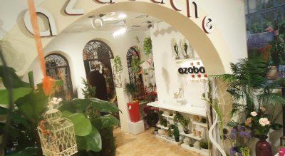 Interior de Floristería Azabache