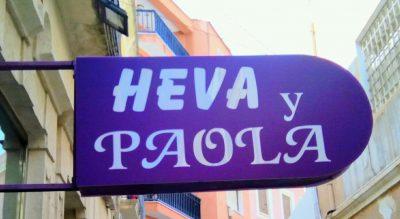 Exterior de Heva y Paola